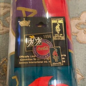 1996 Olympic Torch Relay tee & pin